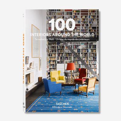 TASCHEN 100 Intérieurs autour du monde (édition 2015) - Couverture rigide