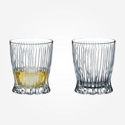 RIEDEL Fire Whisky Tumbler Set  - Clear