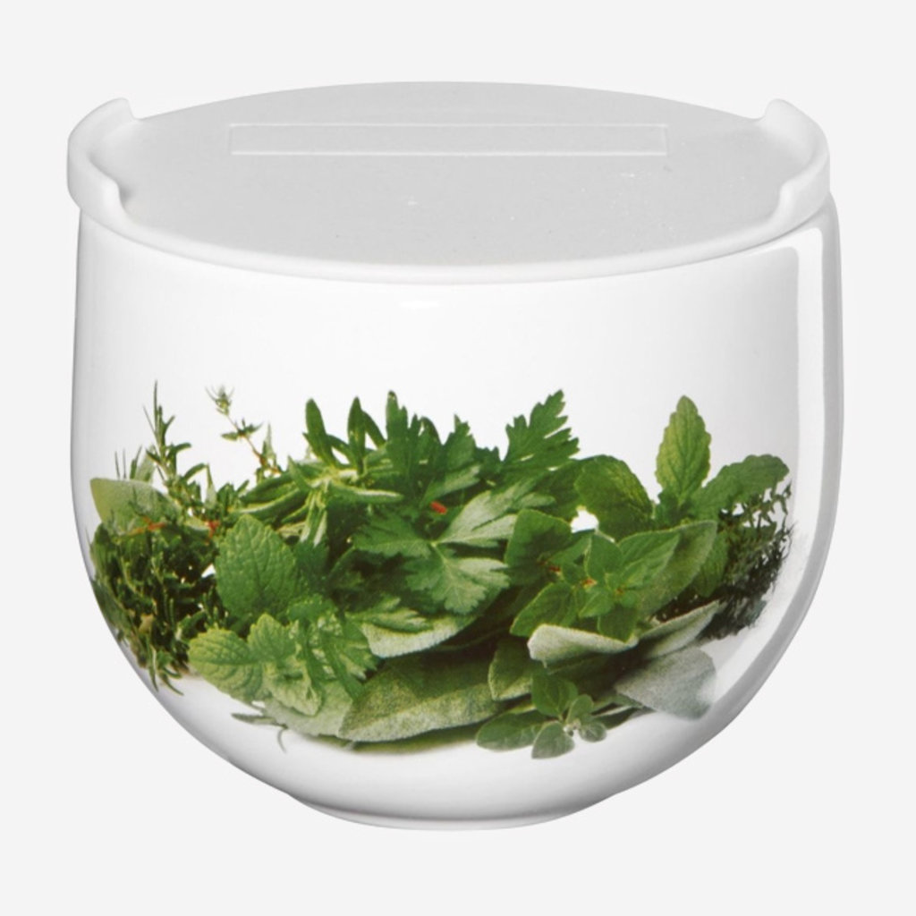 ASA GERMANY  Grand pot à herbes avec couvercle - Blanc