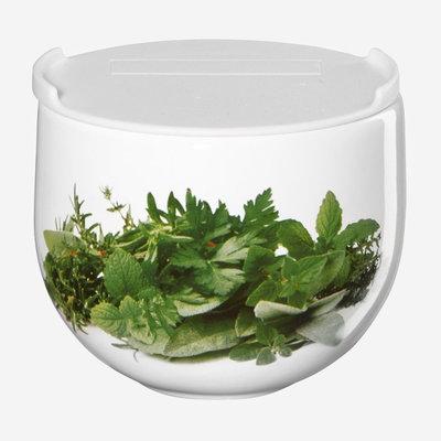 ASA GERMANY Grande Herb Jar with Lid - White