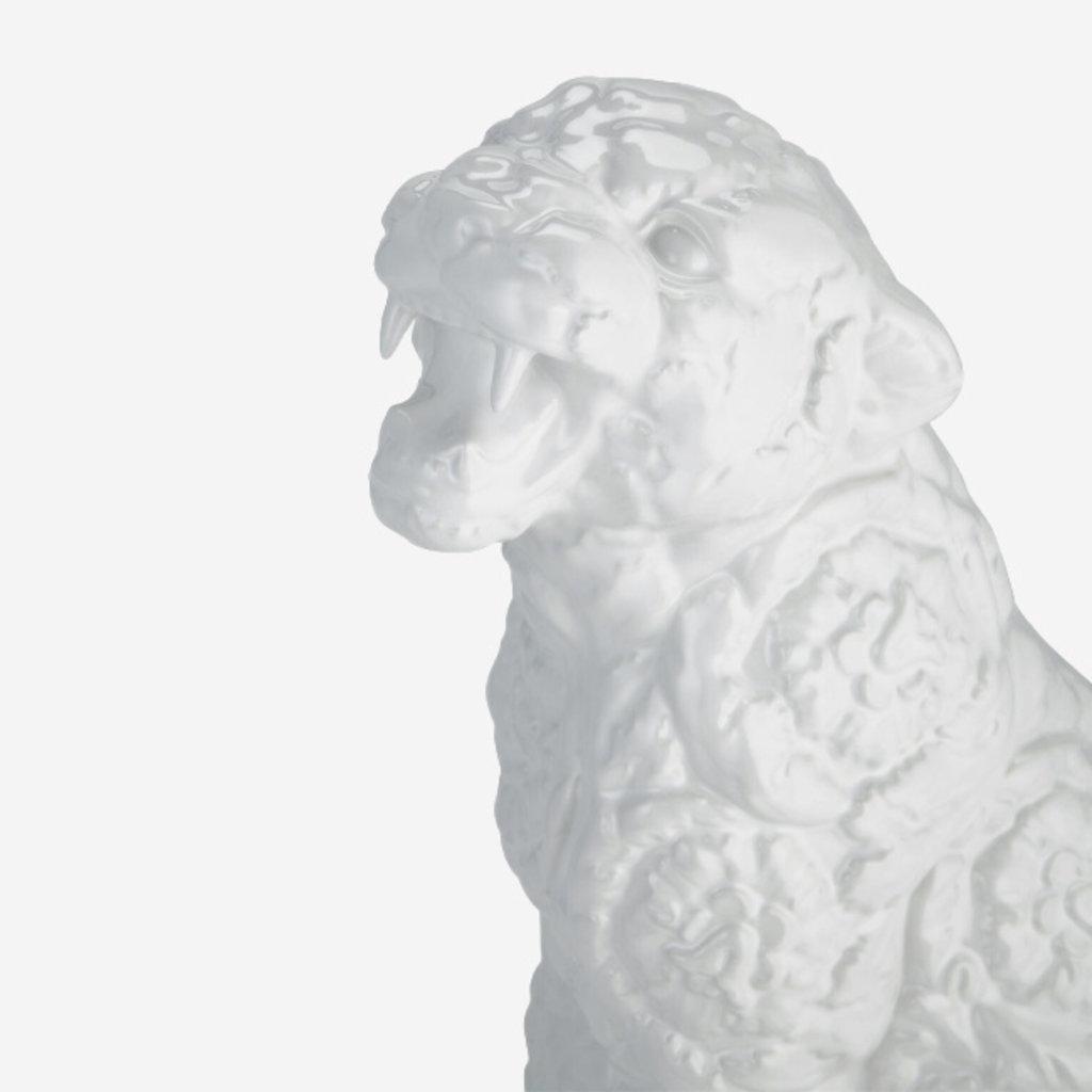 VERSACE HOME Small Rokko Cheetah  - White