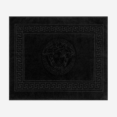VERSACE HOME Medusa Bath Mat - Black