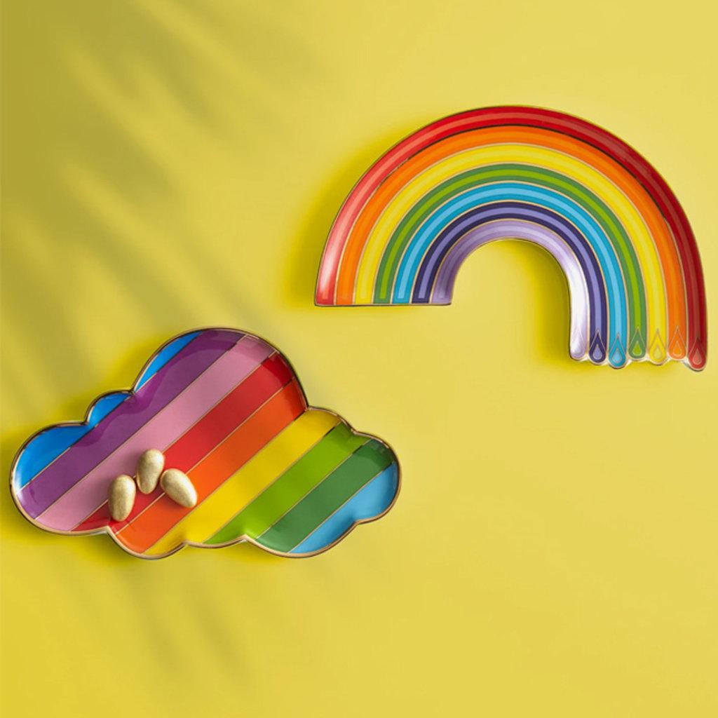 JONATHAN ADLER  Plateau à bibelots Dripping Rainbow - Multi