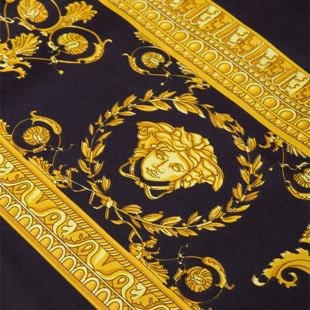 VERSACE HOME I Love Baroque Duvet Cover - Queen Size - Black & Gold