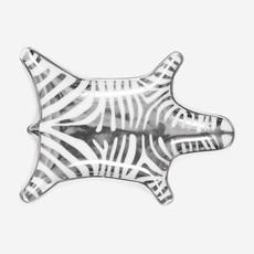 JONATHAN ADLER Zebra Stacking Dish - Silver