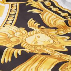 VERSACE HOME La Coupe Des Dieux Duvet Cover - Queen Size - White, Gold & Grey