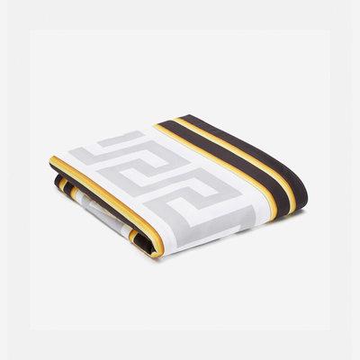 VERSACE HOME La Coupe Des Dieux Duvet Cover - King Size - White, Gold & Grey