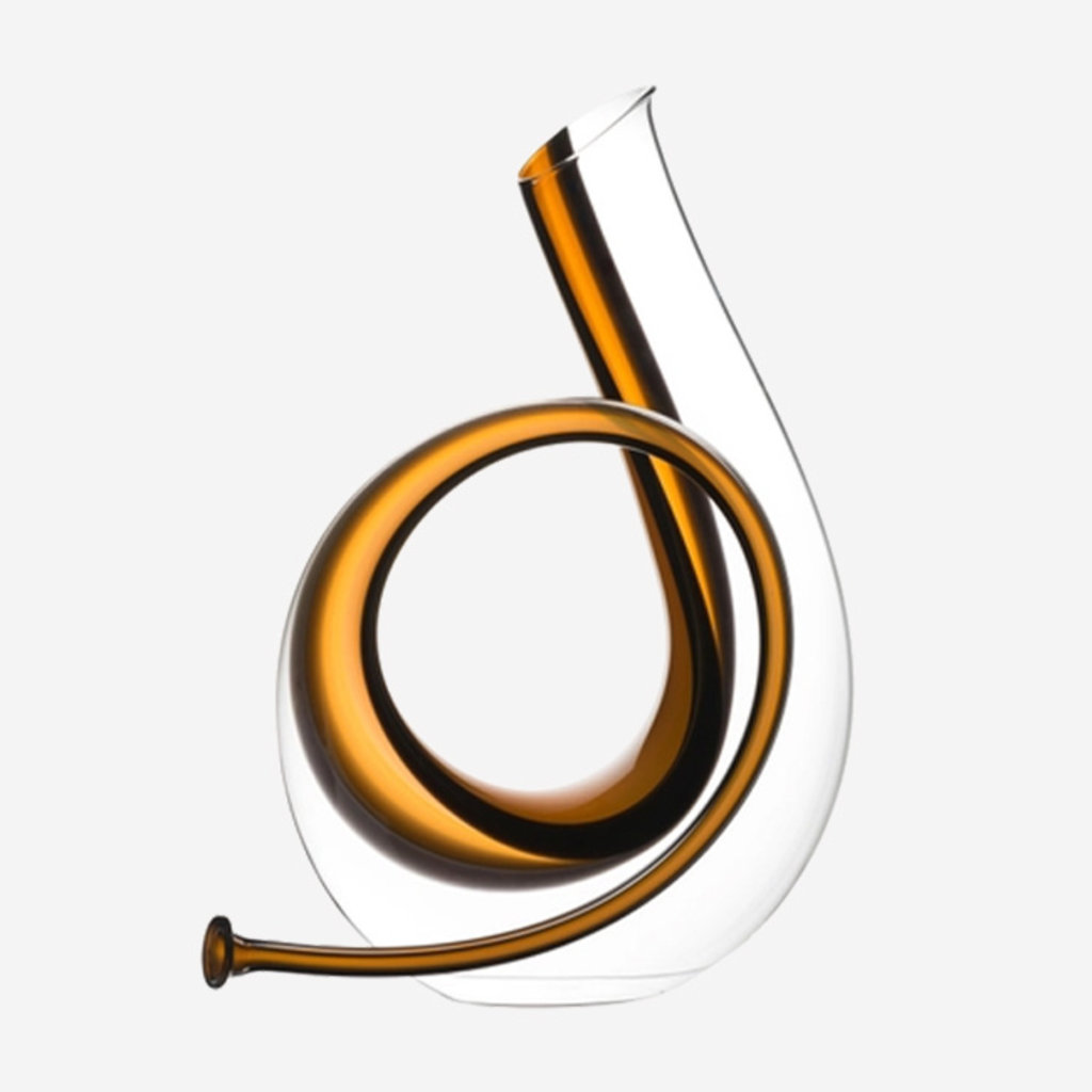 RIEDEL Horn - Clear & Orange