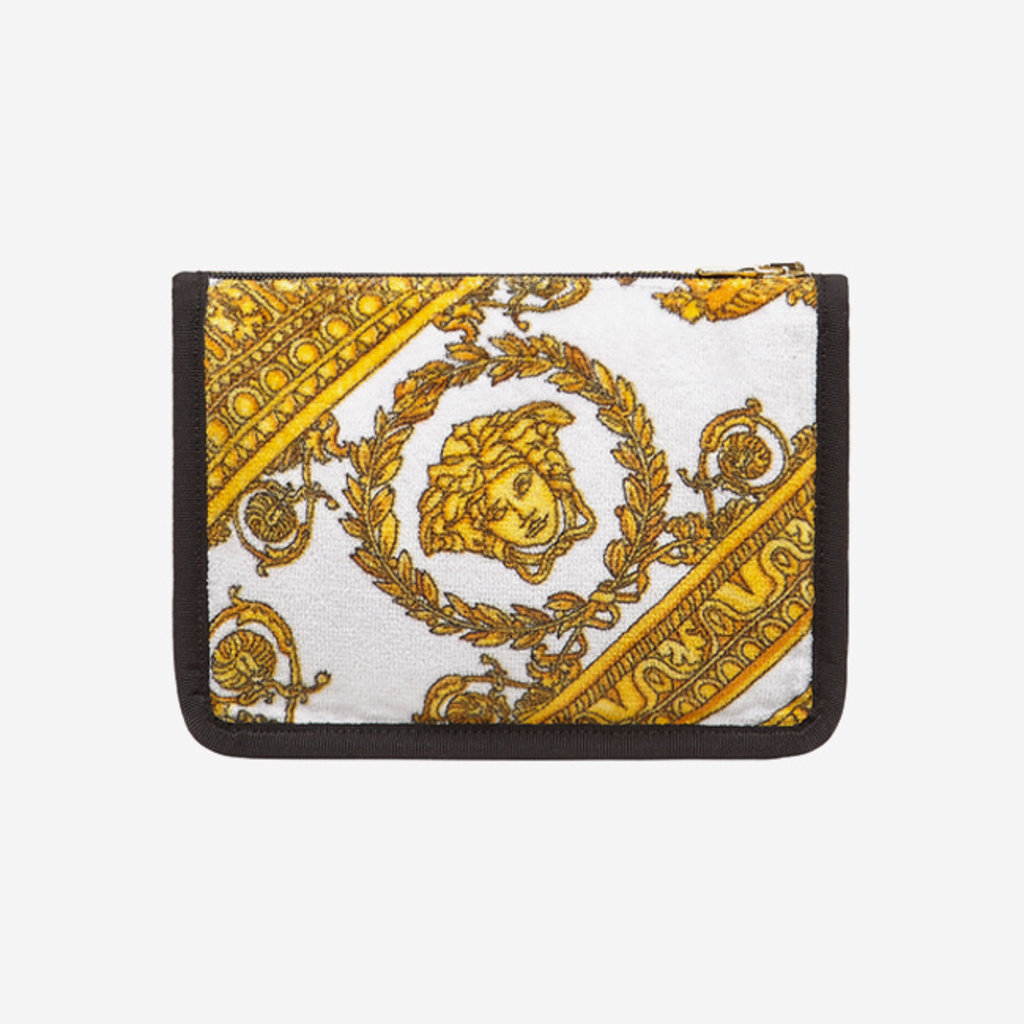 VERSACE HOME I Love Baroque Small Pouch - White, Gold & Black