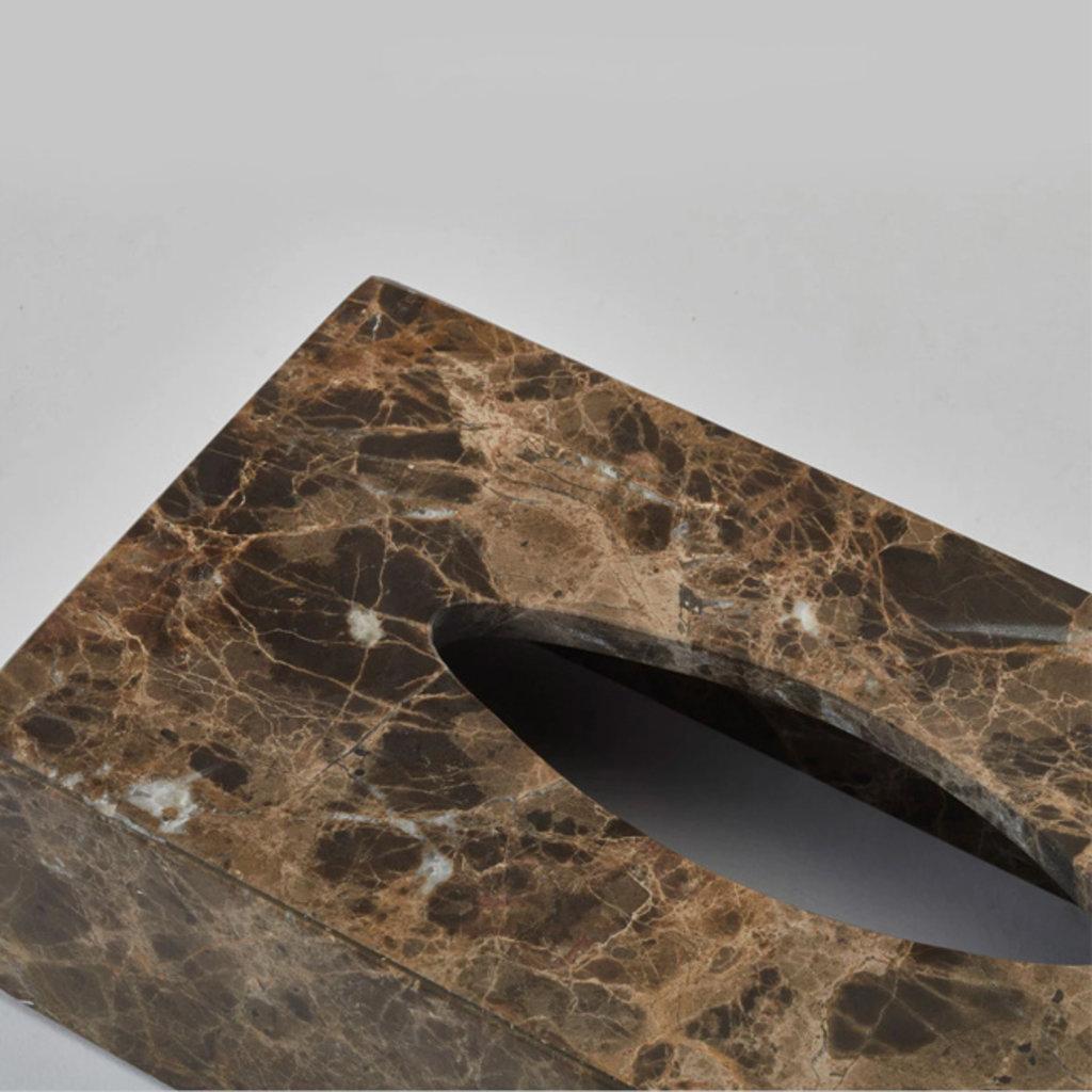 AQUANOVA Hammam Tissue Holder - Brown