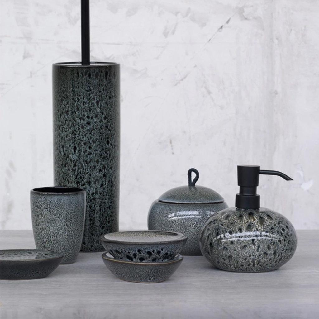 AQUANOVA Ugo Soap Dispenser - Black Olive