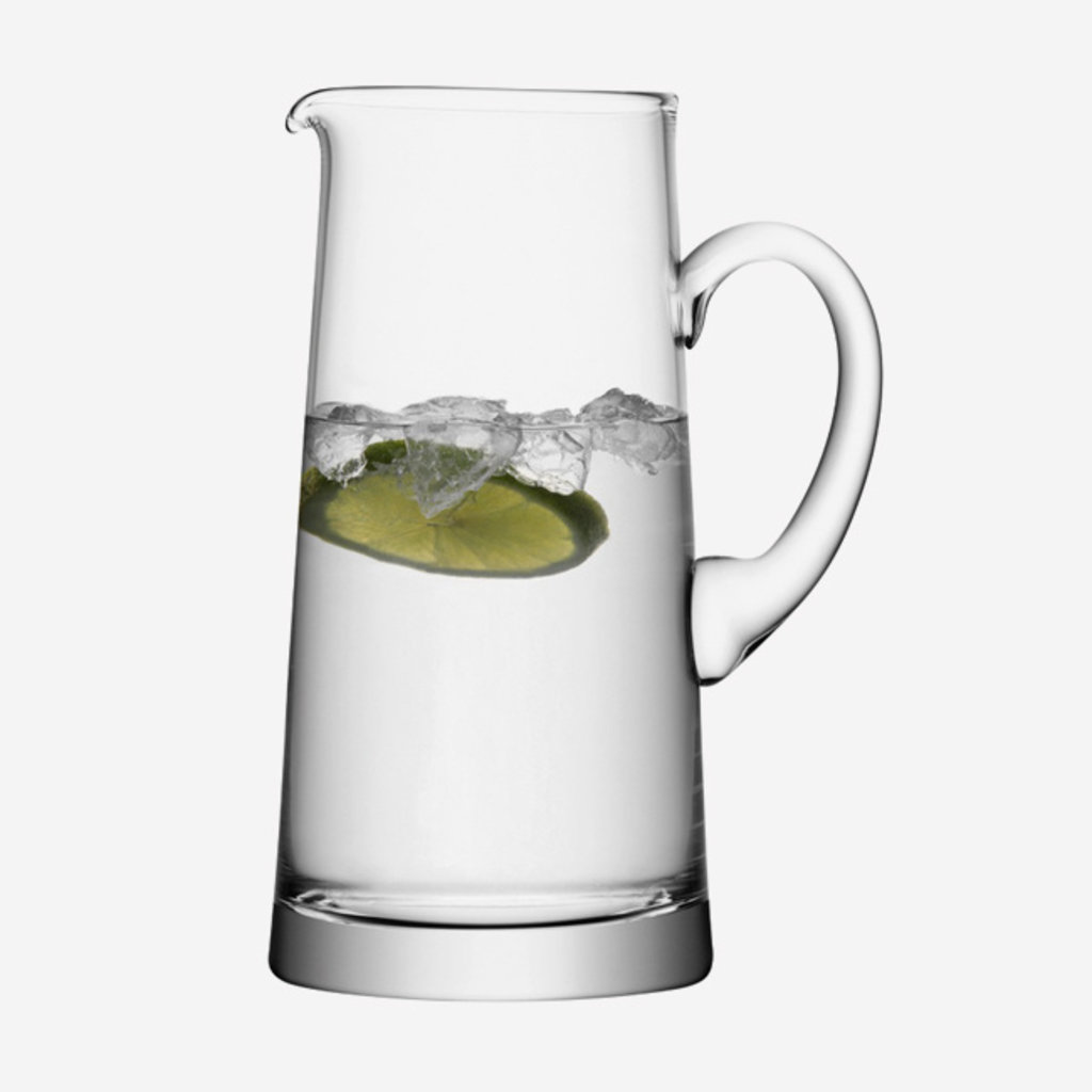 LSA Tapered Glass Pitcher - Clear