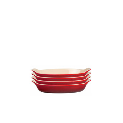 LE CREUSET Heritage Gratin Dish 12cm Set of 4