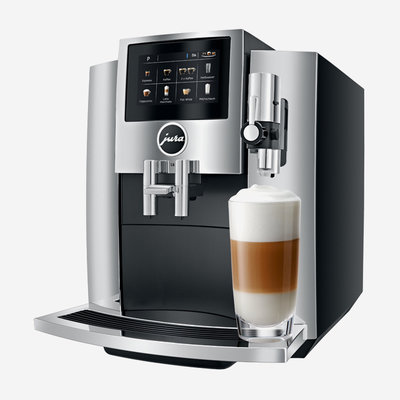 JURA S8 Coffee Machine - Chrome