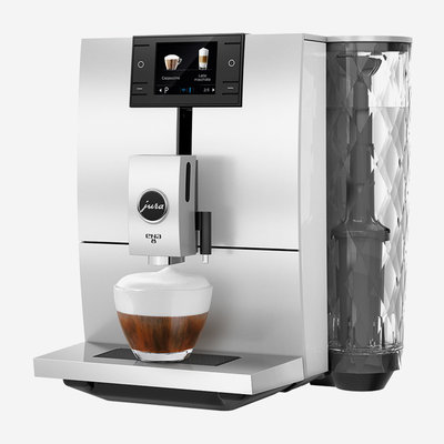 JURA Ena 8 Coffee Machine - Nordic White