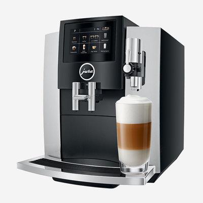 JURA Machine à café  S8 - Argent Clair de Lune