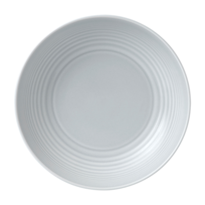 "ROYAL DOULTON Maze Light Grey Pasta Bowl 9.25"""