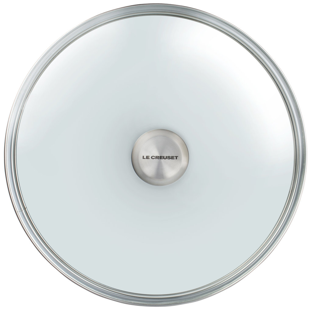 LE CREUSET Glass Lid with SS Knob