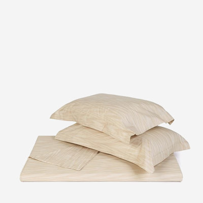 """MISSONI HOME Angie King Size Fitted Sheet 78""""x80""""x14"""" - Beige"""