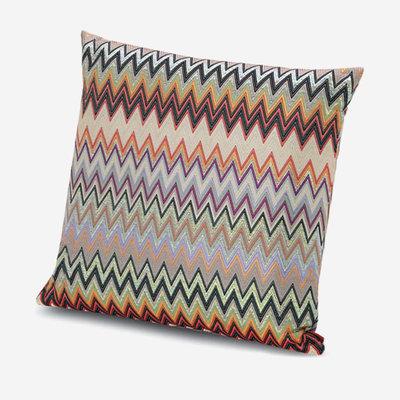 "MISSONI HOME Masuleh Outdoor Pillow 16""x16"" - Zig Zag Pattern 156"