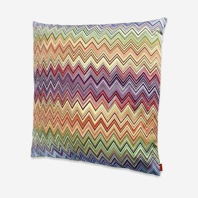 "MISSONI HOME Jarris Outdoor Pillow 24""x24"" - Zig Zag Pattern 156"