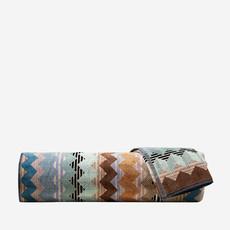"MISSONI HOME Alfred Hand Towel 16""x27"" - Striped Zig Zag Pattern 160"