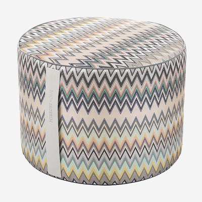 MISSONI HOME Masuleh Cylindrical Pouf (Color 170)