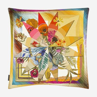 DESIGNERS GUILD Botanic Rainbow Multicolore Pillow 50X50Cm