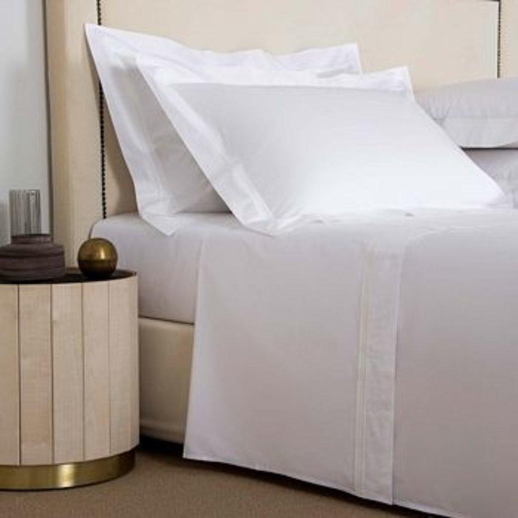 FRETTE Triplo Popeline Bedset Queen White/Milk