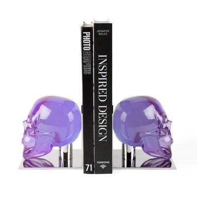 JONATHAN ADLER Acrylic Skull Serre livres