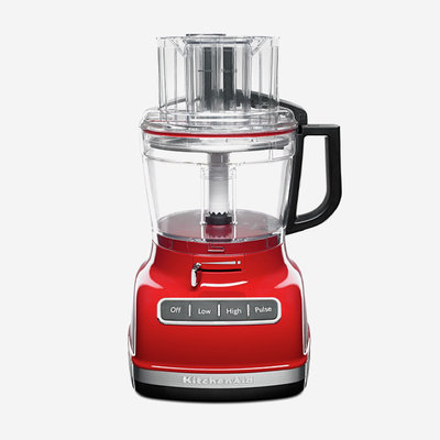 KITCHENAID Empire Red 11-Cup Food Processor With Exactslice System