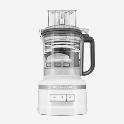 KITCHENAID 13-Cup Food Processor with Dicing Kit - White