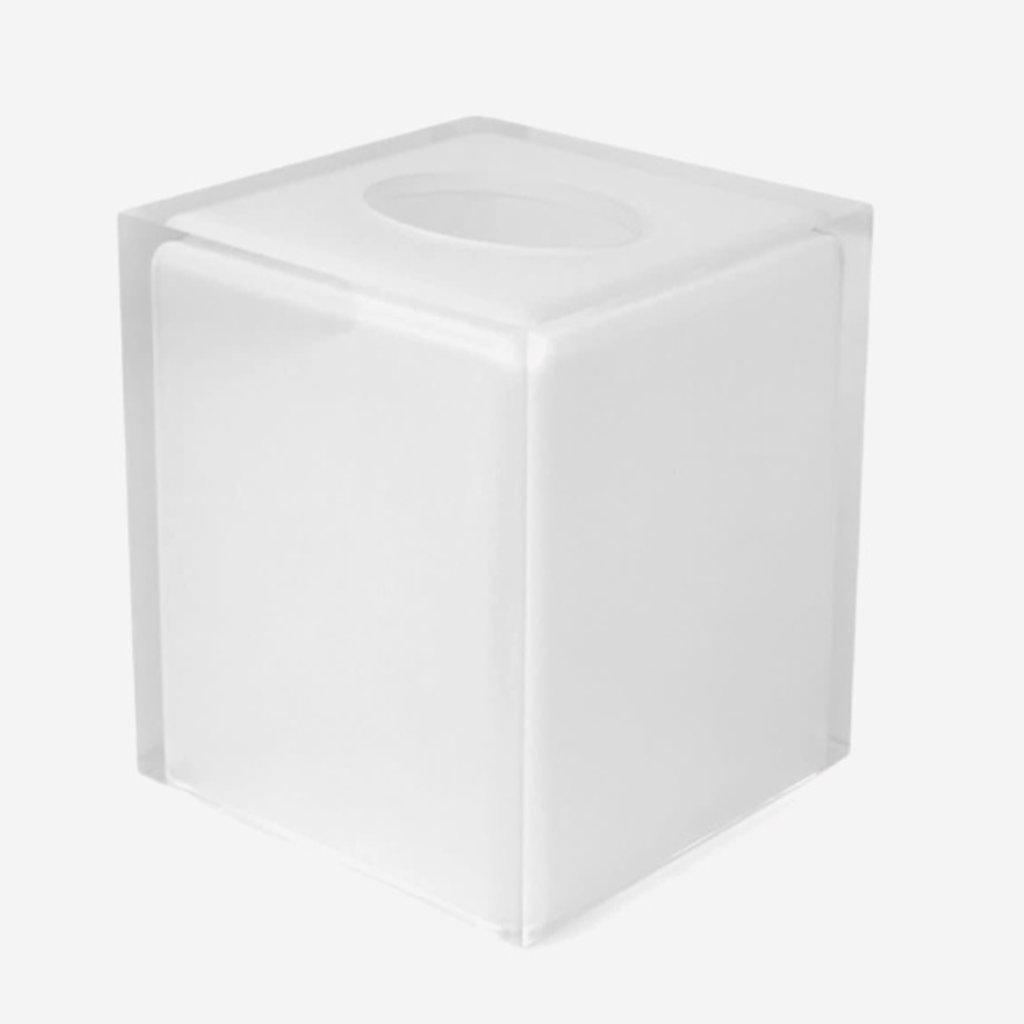 JONATHAN ADLER Boîte à mouchoirs de bain Hollywood transparente