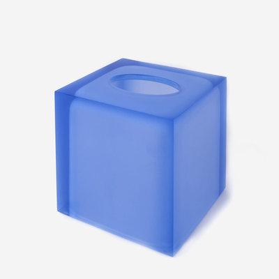 JONATHAN ADLER Hollywood Bath - Tissue Box - Blue
