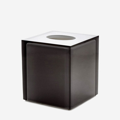 JONATHAN ADLER Hollywood Bath Tissue Box - Smoke