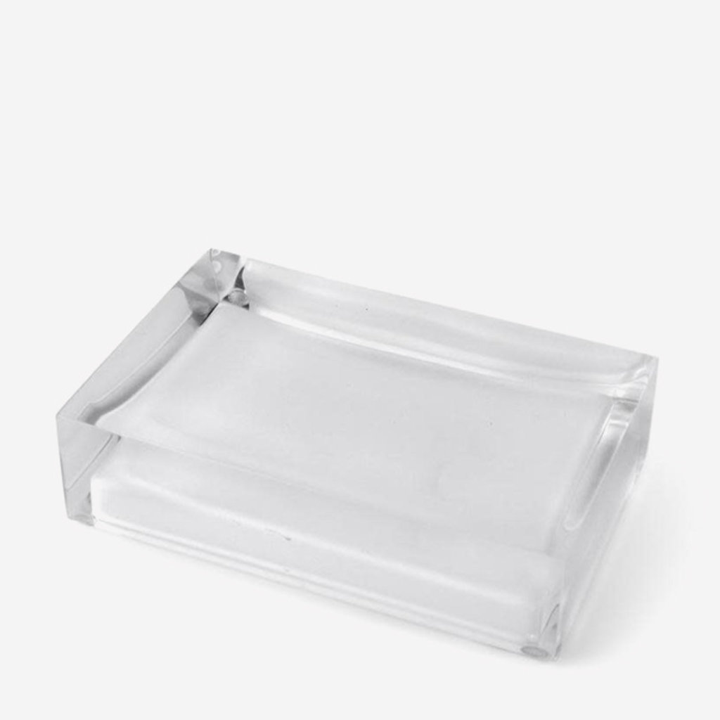 JONATHAN ADLER Hollywood Soap Dish - Clear