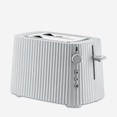 ALESSI Plissé Toaster White