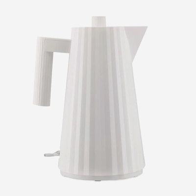 ALESSI Plissé  Electric Water Kettle White