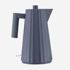 ALESSI Plissé  Electric Water Kettle Grey