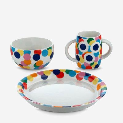 ALESSI Alessini Children Tableware Set Proust