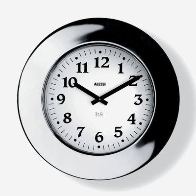 ALESSI Momento Mural Clock Ss,Wall Clock