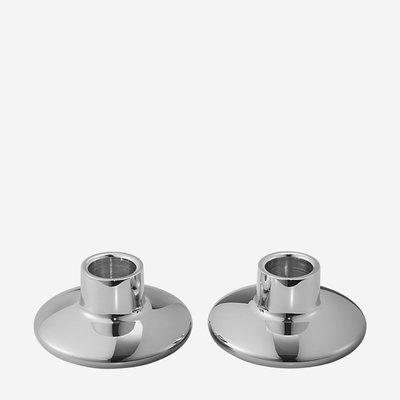 GEORG JENSEN Koppel Stainless Steel Candle Holder - Set of 2