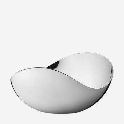 GEORG JENSEN Bloom Stainless Steel Tall Mirror Bowl - Large
