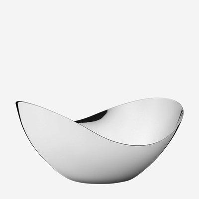 GEORG JENSEN Bloom Stainless Steel Tall Mirror Bowl - Medium