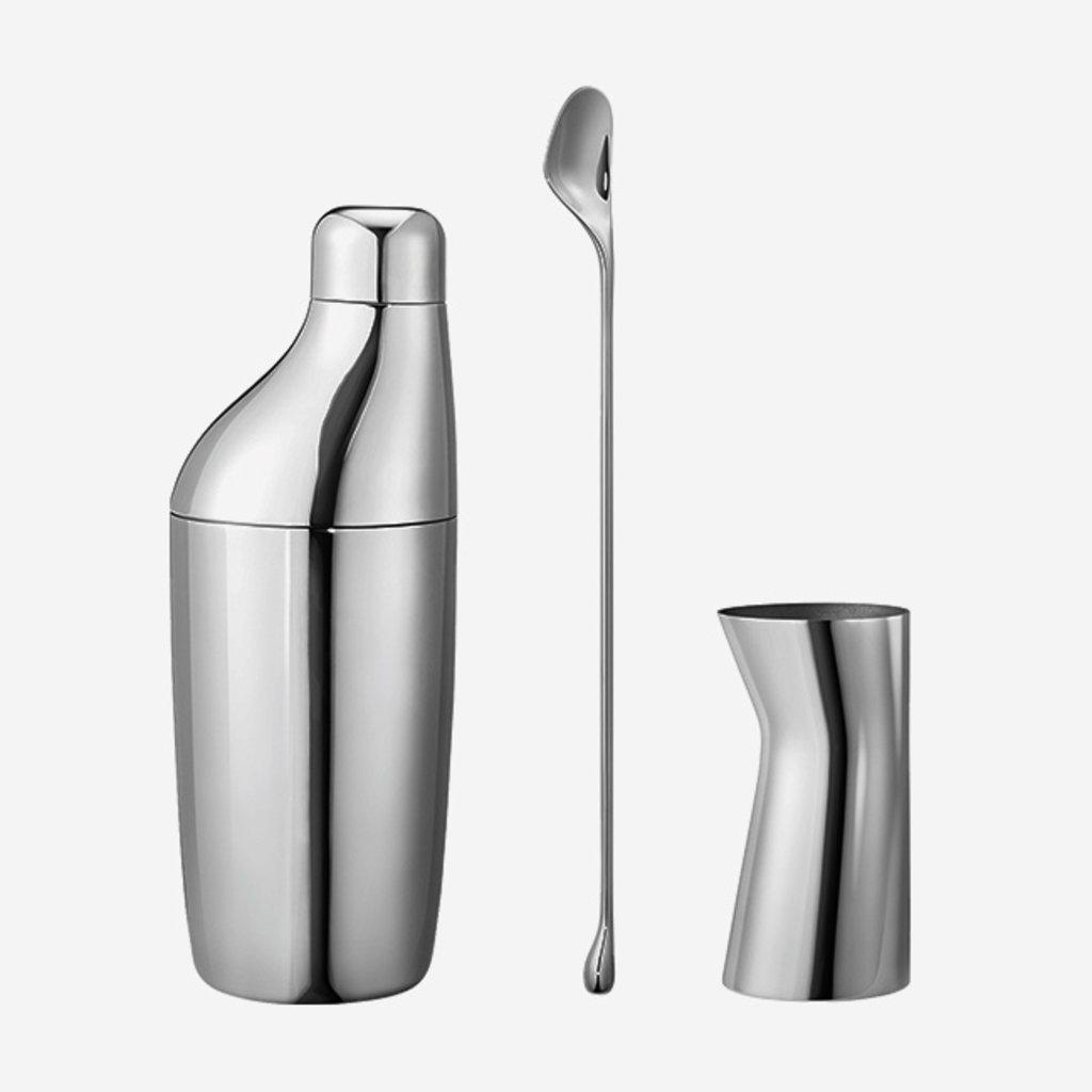 GEORG JENSEN  Sky Cocktail Set of 3 - Silver