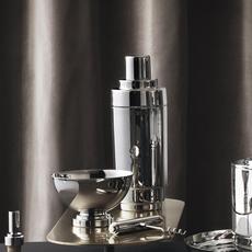 GEORG JENSEN  Manhattan Cocktail Shaker - Silver