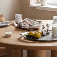 GEORG JENSEN  Cobra Salt & Pepper Shaker Set - Silver