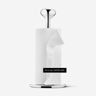 GEORG JENSEN Alfredo Paper Towel Holder - Silver