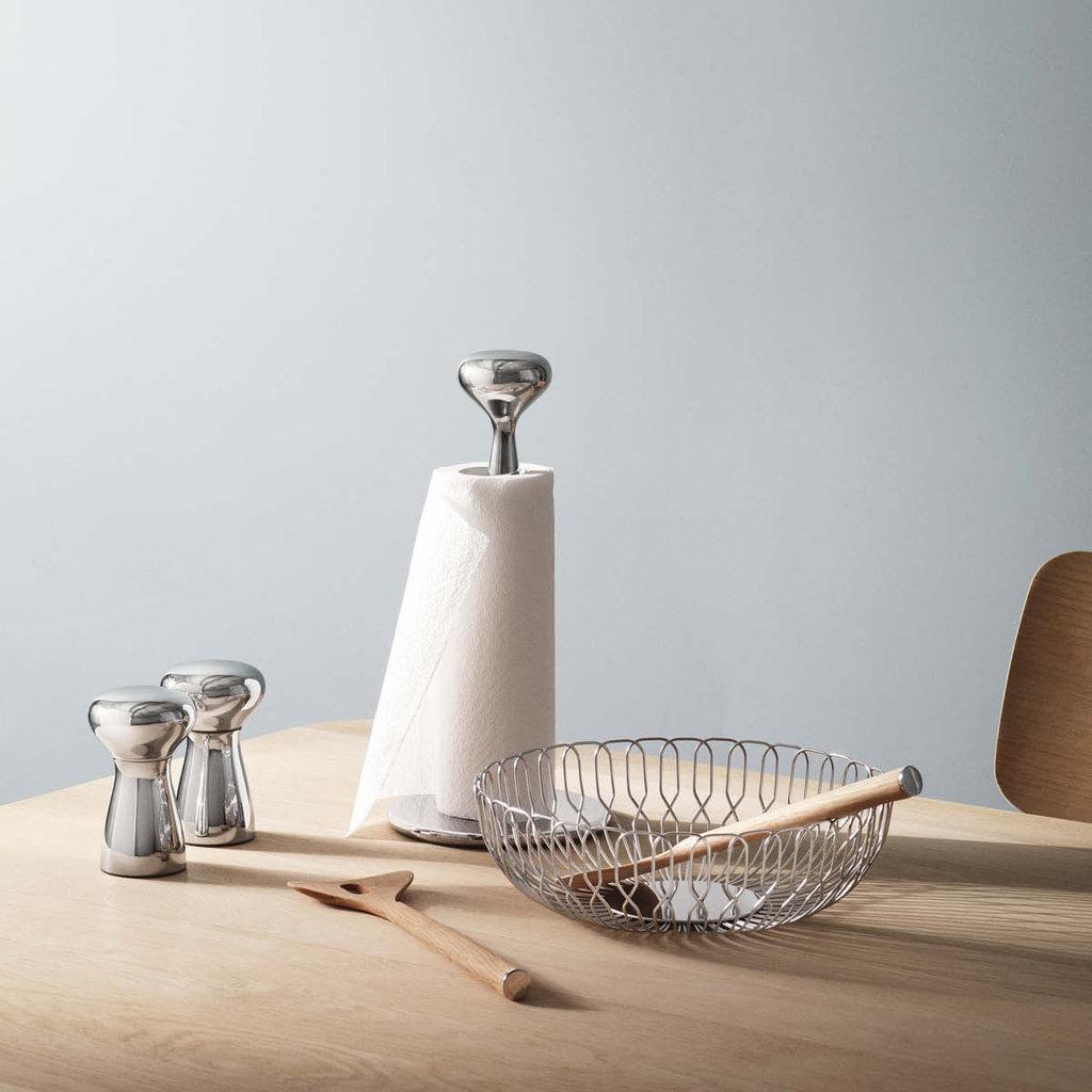 GEORG JENSEN Alfredo Salt & Pepper Shaker Set - Silver