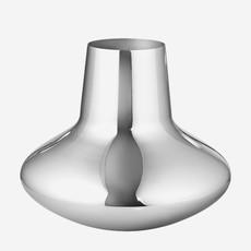 GEORG JENSEN Koppel Large Vase in Polished Stainless Steel